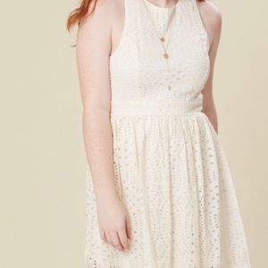 altar'd state | cream sleeveless dress new small